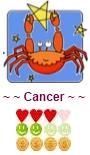 Horóscopo del día para cancer